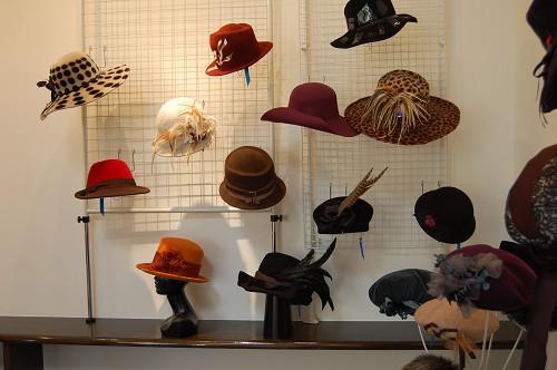 帽子展示会の様子10