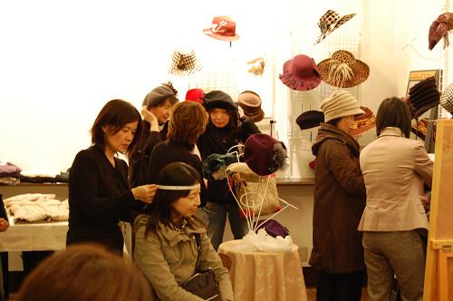 帽子展示会の様子14