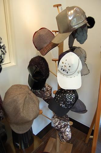 帽子展示会の様子3