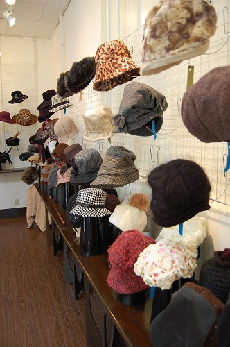 帽子展示会の様子5