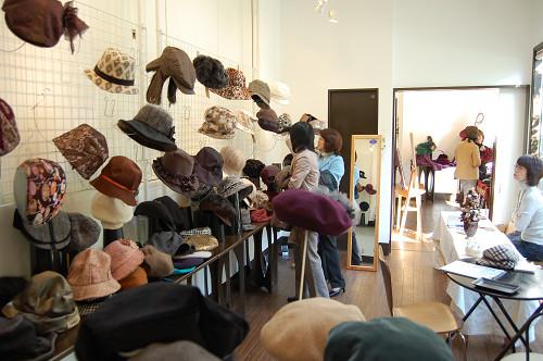 帽子展示会の様子6