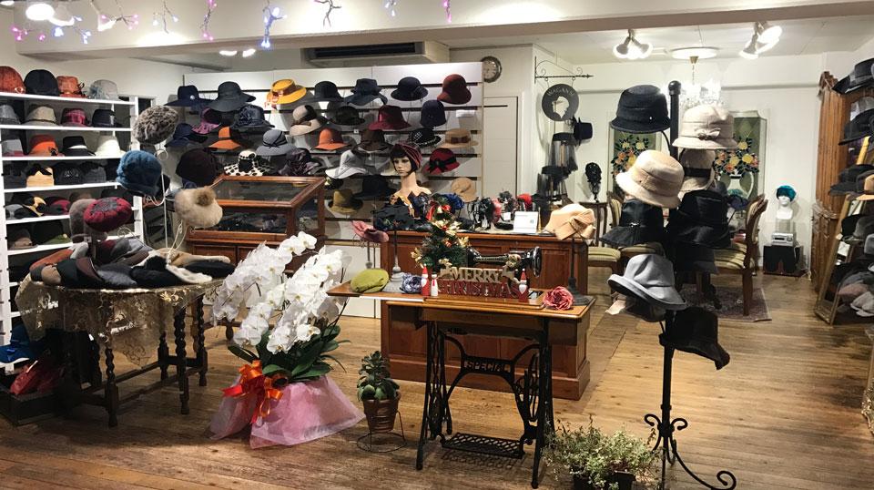 帽子通販 帽子屋WAGANSEの麻布十番本店